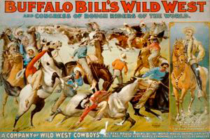 Buffalo Bill's Wild West Show'n mainosjuliste