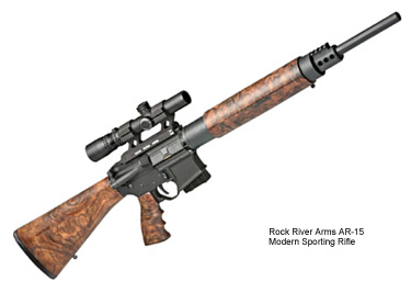 Rock River Armsin AR-15 Modern Sporting Rifle. Kuva: NSSF