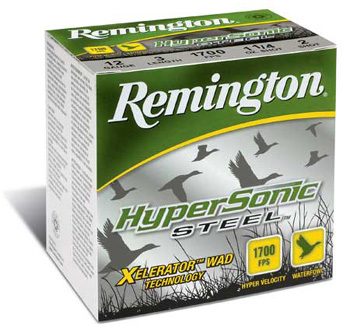 Remingtonin Hypersonic Steel haulikonpatruuna. Kuva: Remington Arms