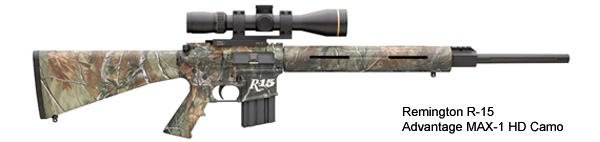 Remington R-15 Advantage MAX-1 kamoasussa. Kuva: Remington Arms Company