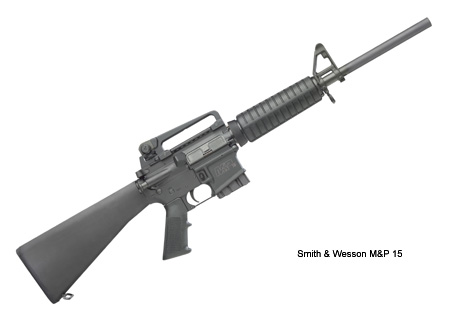 Smith & Wesson M&P 15 itselataava kivääri. Kuva: Smith & Wesson
